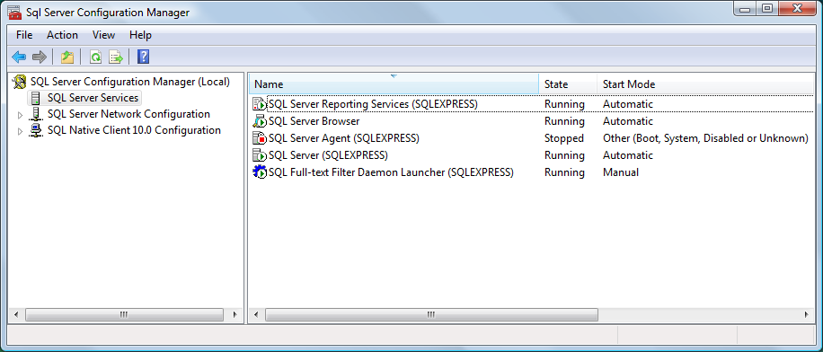 Setting up the SQL Server for Audit Trail