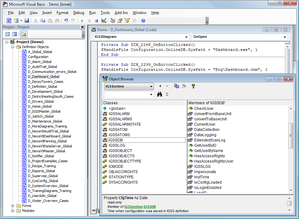 Getting started with the built-in VBA editor
